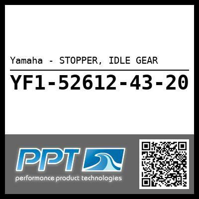 Yamaha - STOPPER, IDLE GEAR