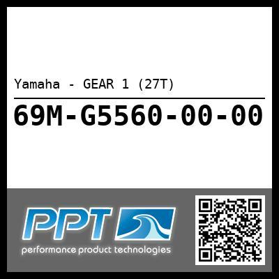 Yamaha - GEAR 1 (27T)