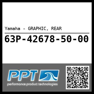 Yamaha - GRAPHIC, REAR