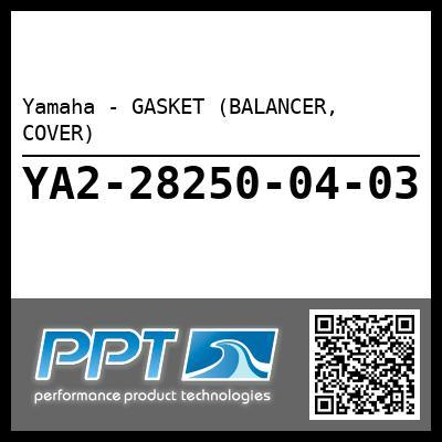 Yamaha - GASKET (BALANCER, COVER)