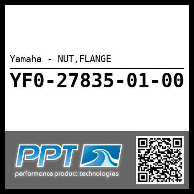 Yamaha - NUT,FLANGE