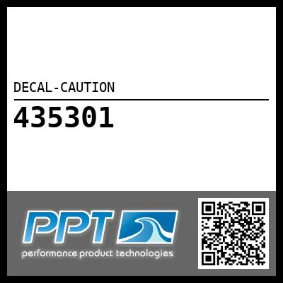 DECAL-CAUTION
