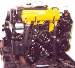 "Mercruiser 1997 - 2001 Small V8 MPI w/ Serpentine Belt & High Port Side Mounted Power Steering ""Standard Capacity"""