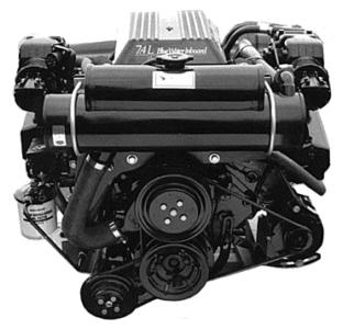 Mercruiser 1990 - 1993 Big Block V8 Carbureted with V Belts *V DRIVE* (full System)