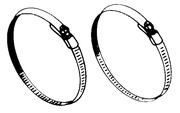 BRACKET STRAPS/BANDS - Click Here to See Product Details