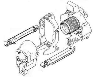 Transom Assembly - Alpha Gen I, 1983-1990 P/N 6-6010000CP - Click Here to See Product Details