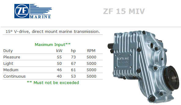 Transmission - ZF15MIV (#ZF15MIV) - Click Here to See Product Details