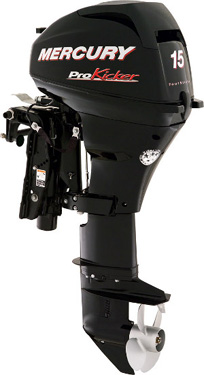 Engine - Outboard, Mercury, Pro Kicker 15 HP, 20HP, 25