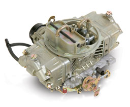 Carburetor - Holley 600 cfm 4 bbl Spread Bore, Mechanical Secondary, Small Block V8 - Click Here to See Product Details