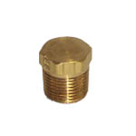 BRASS PLUG 3/8 HEX HD (CHRYSLER P/N 0444626) - Click Here to See Product Details
