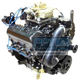 GM 4.3L V6 New Base Marine Engine Power Package w/ 4 Barrel Carburetor