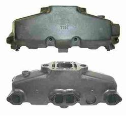 Mercruiser 5.0L/5.7L/6.2L Coated Cast Iron Exhaust Manifold - Click Here to See Product Details