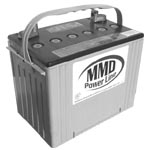 Deep Cycle AGM Batteries (Deka Batteries P/N EP 8A31DTM) - Click Here to See Product Details