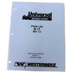 Parts Manual (WESTERBEKE P/N Q200137) - Click Here to See Product Details
