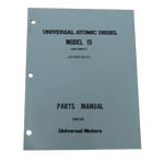 Parts Manual (WESTERBEKE P/N Q200138) - Click Here to See Product Details