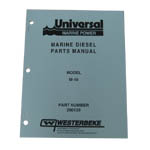 Parts Manual (WESTERBEKE P/N Q200139) - Click Here to See Product Details