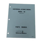 MANUAL-PARTS M-20  5416 (WESTERBEKE P/N Q200140) - Click Here to See Product Details
