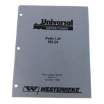 Parts Manual (WESTERBEKE P/N Q200141) - Click Here to See Product Details