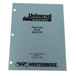 Parts Manual (WESTERBEKE P/N Q200142) - Click Here to See Product Details