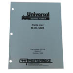 Parts Manual (WESTERBEKE P/N Q200143) - Click Here to See Product Details