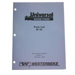 Parts Manual (WESTERBEKE P/N Q200145) - Click Here to See Product Details