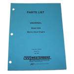 MANUAL  NLA (WESTERBEKE P/N Q200148) - Click Here to See Product Details