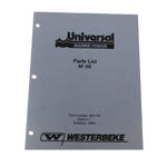 Parts Manual (WESTERBEKE P/N Q200149) - Click Here to See Product Details