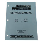 Service Manual (WESTERBEKE P/N 200152) - Click Here to See Product Details