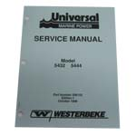 MANUAL-SERV 5432 5444 (WESTERBEKE P/N 200153) - Click Here to See Product Details