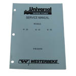 Service Manual (WESTERBEKE P/N 200154) - Click Here to See Product Details