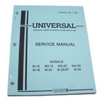 Service Manual (WESTERBEKE P/N 200155) - Click Here to See Product Details