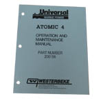 MANUAL-OPER & MAINT ATOMIC 4 (WESTERBEKE P/N 200156) - Click Here to See Product Details