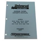 Operators Manual (WESTERBEKE P/N 200157) - Click Here to See Product Details