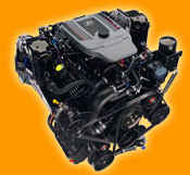 Engine - Mercruiser NEW, 5.7L 350, MPI, Bravo - Click Here to See Product Details