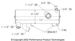 Chrysler-Nissan 4 inch tank - Click Here to See Product Details