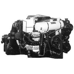 Mercruiser Closed Cooling System - 1997-2001 Small V8 Carbureted w/ Serpentine Belt & High Port Side Mounted P.S. (#MC321)
