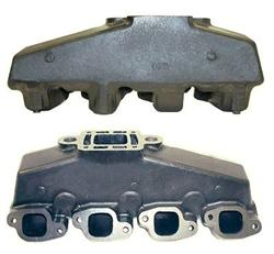 Mercruiser Big V8 Coated Cast Iron Exhaust Manifold