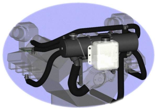 Mercruiser Big V8 V/Serp Belt, Carb/EFI/L29 *High Capacity* Sterndrive, Inboard & V-Drive Models (Full System)