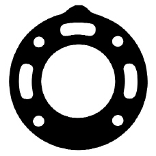 Gasket, Elbow, 3 Water Holes - Click Here to See Product Details